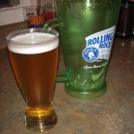 Final glass from the keg